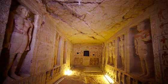 """Descubren una tumba de 4.400 años en Egipto """"única en su clase"""""""