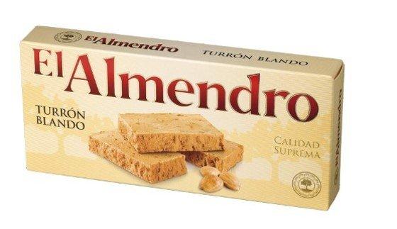 El Almendro - Turrón Blando Superior, 250 g