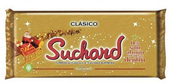 Suchard - Turrón de Chocolate Crujiente