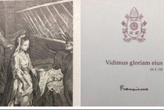 Esta es la felicitación de Navidad del Papa Francisco
