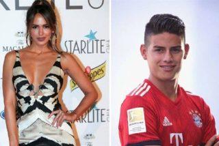 Las fotos que confirmarían la relación entre James Rodríguez y la modelo venezolana Shannon de Lima