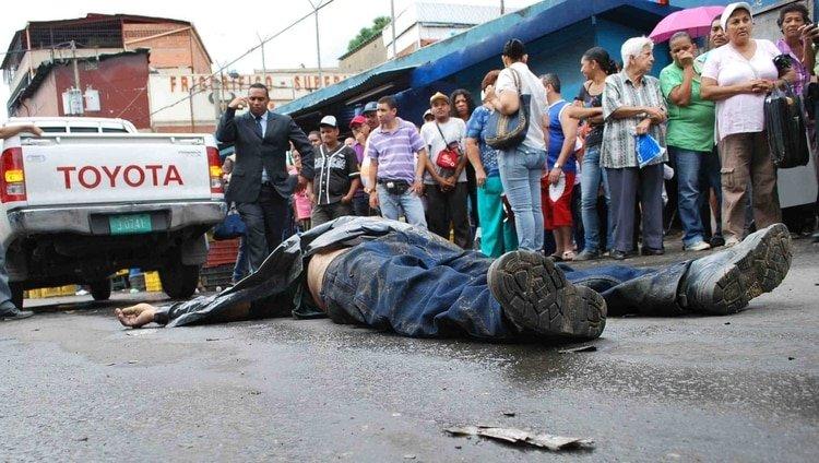 La Venezuela chavista se convierte en el país más violento de América Latina