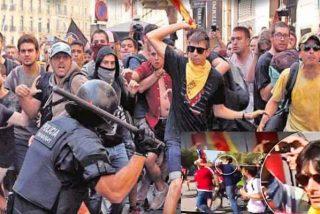 El xenófobo Torra y los matones del independentismo batasunizan Cataluña