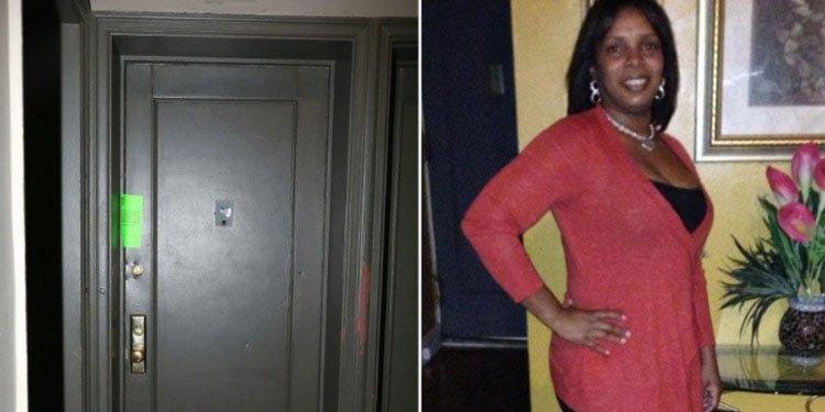 Disparan en el rostro a una mujer por abrir la puerta de su casa