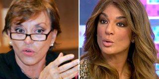 """'Sálvame' explota contra María Eugenia Yagüe por decir que a Raquel Bollo """"le tocó la lotería con las palizas"""" de Chiquetete"""