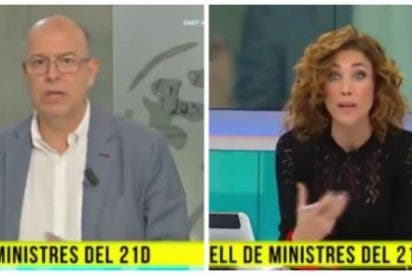 La implacable reacción de un diputado del PSOE a la provocación de baja estofa de la golpista estrella de TV3