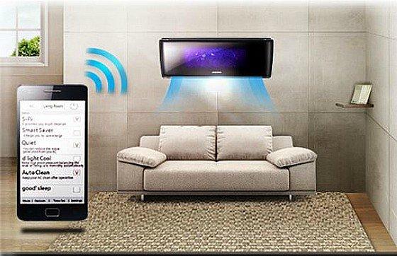 aire acondicionado con inverter y wifi