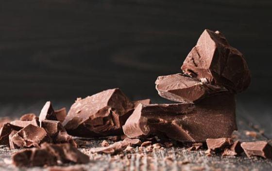 chocolate trozos