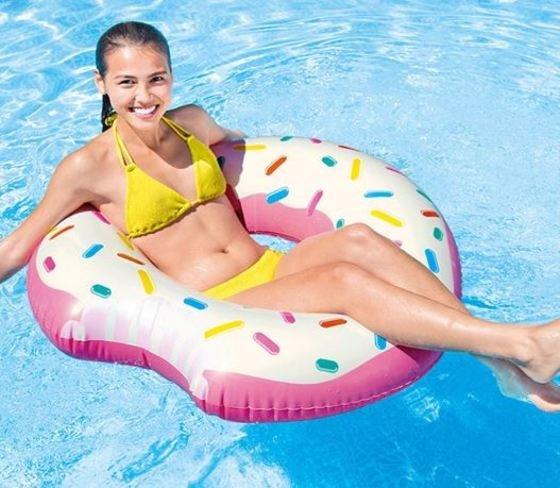 Donuts de fresa – colchoneta