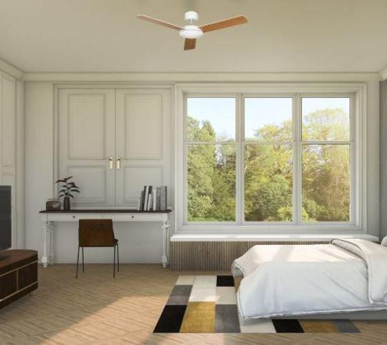 ventilador de techo dormitorio