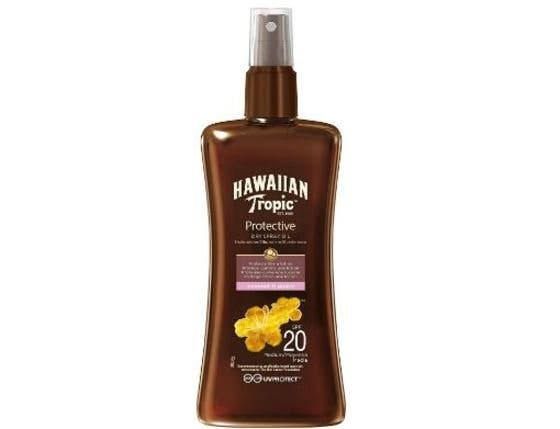 Hawaiian Tropic Aceite Spray SPF20-200