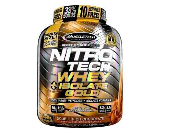 Muscletech Suplemento para Deportistas Nitro