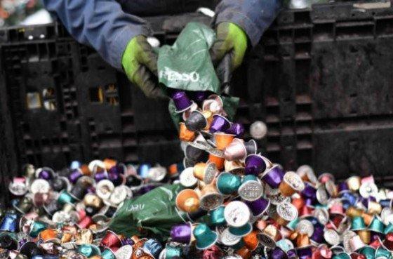 cápsulas de café reciclaje