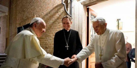 Benedicto XVI reaparece en un programa de la radiotelevisión pública de Baviera
