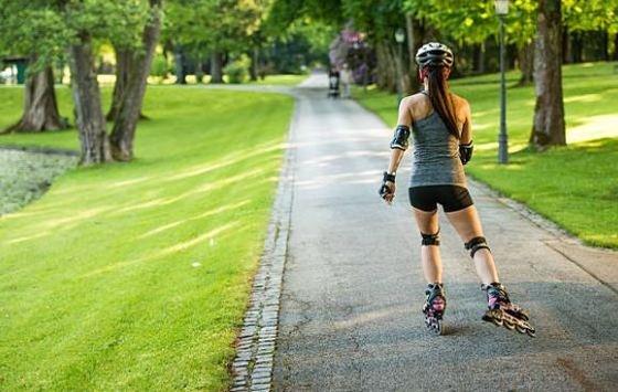 entrenar con patines en línea