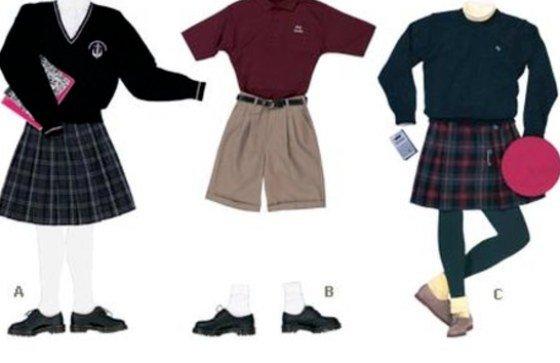 historia del uniforme escolar