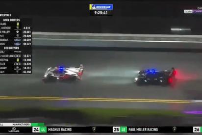 Esta frenada de Fernando Alonso bajo la lluvia revienta las redes sociales