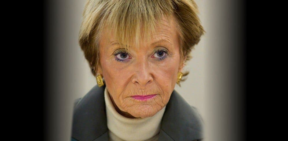 El nuevo rostro de la exvicepresidenta Fernández de la Vega que te dejará pálido del susto