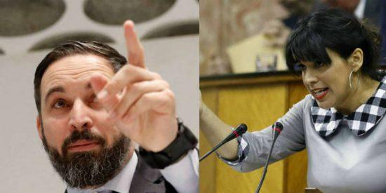 El brutal vídeo de Santiago Abascal que deja a la perversa Teresa Rodríguez 'jodida' del todo
