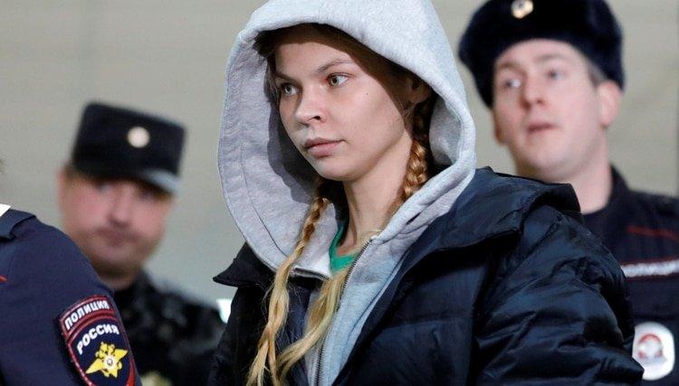 Liberan a Nastia Rybka, la escort que conoce los secretos de la relación entre Donald Trump y el Kremlin