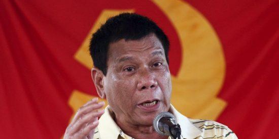 """Duterte vuelve a la carga: """"Solo puedo decir que los obispos son unos hijos de puta, ¡malditos sean!"""""""