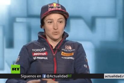 """Anastasía Nífontova: """"En el Dakar 2019 me convertí en la primera mujer en llegar a meta en mi categoría"""""""