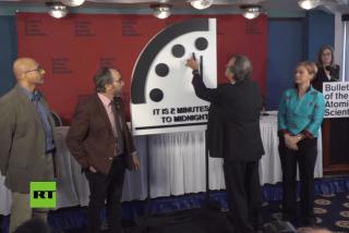 ¿Sabías que el reloj del Apocalipsis está a dos minutos del 'fin del mundo'?