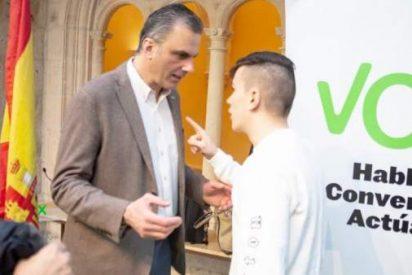 """El intento de agresión al secretario general de VOX: """"¡Esto pronto se va a terminar!"""""""