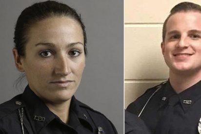 Cuando el desventurado policía le dispara por accidente a su compañera en la espalda