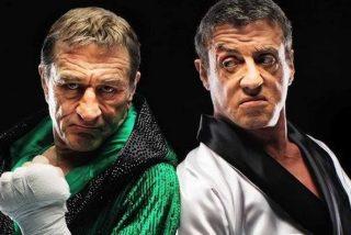 Sylvester Stallone y Robert De Niro 'ajustan cuentas' a puñetazos y sobre el ring