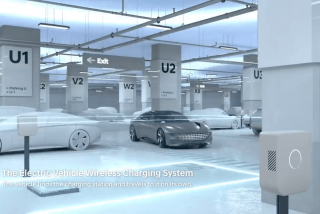 A Hyundai le gusta innovar y quiere que los coches eléctricos se carguen a sí mismos