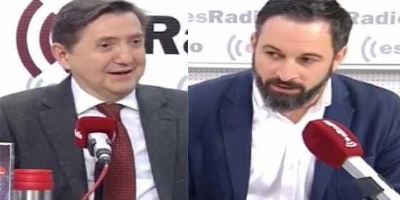 Losantos mete el miedo en el cuerpo a PP y Ciudadanos con un espectacular vaticinio sobre Vox