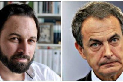 Santi Abascal le hiela la sonrisa a Zapatero vaticinándole un sombrío futuro judicial