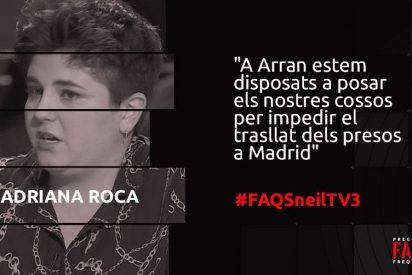 Así hace votos la sustituta de Rosel desde su púlpito en TV3: ¡bendice una sucia amenaza de Arran al TS!