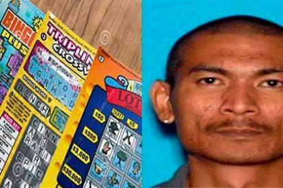 Arrestan a un 'listo' por robar un billete de lotería ganador de USD 10 millones a su compañero de piso