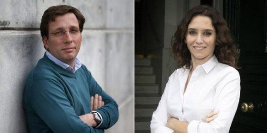 Díaz Ayuso, candidata del PP a la Comunidad y Martínez-Almeida, al Ayuntamiento