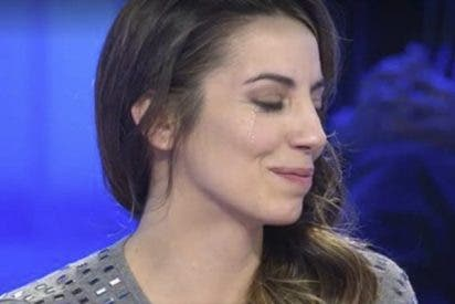 Almudena Cid no logra contener las lágrimas en 'Pasapalabra' tras este mensaje a Christian Gálvez