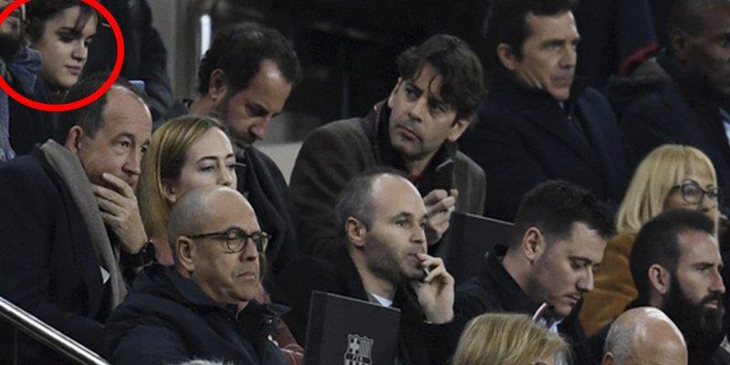 La foto de Amaia (OT) en el Camp Nou que tiene un par de detalles de los que todos hablan