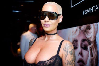 Totalmente desnuda: Amber Rose, expareja del esposo de Kim Kardashian, rompe Instagram
