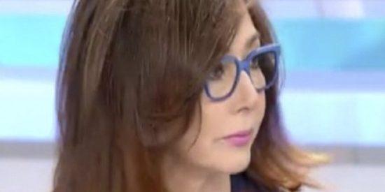 """Ana Rosa Quintana sobre el representante de Élite Taxi Barcelona: """"No entiendo por qué tiene que venir este señor aquí"""""""