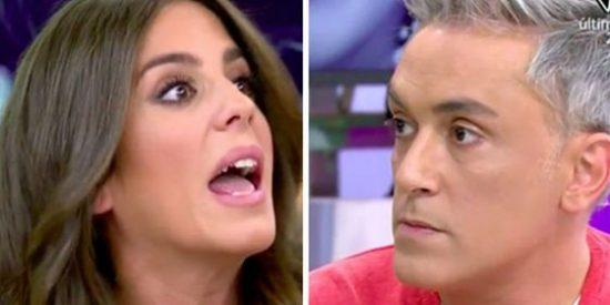 """Bronca sin precedentes entre Kiko Hernández y Anabel Pantoja: """"Insultos no, ¿vale?"""""""