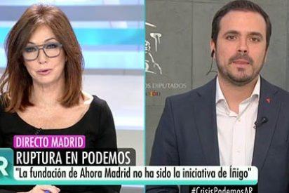 El 'sujeta pancartas' de Iglesias dice que ellos no piensan ir con 'el traidor' Errejón y Ana Rosa le trolea