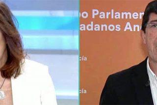 La ristra de 'azotes' de Ana Rosa al soporífero Juan Marín (Ciudadanos) por insistir en que no tiene nada que hablar con VOX