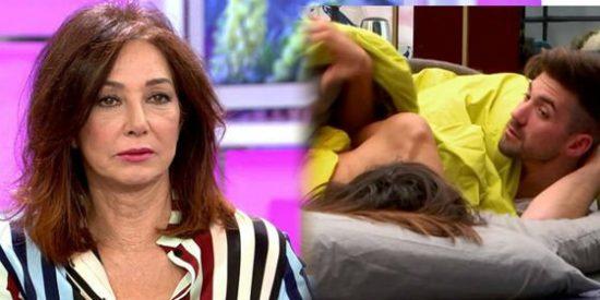 "Cabreo y asco de Ana Rosa Quintana ante el 'edredoning' de Sofía Suescun: ""¡Me voy!"""