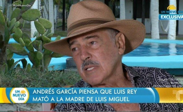 """Confesión: """"Luisito Rey me pidió que lo ayudara a matar a la mamá de Luis Miguel"""""""