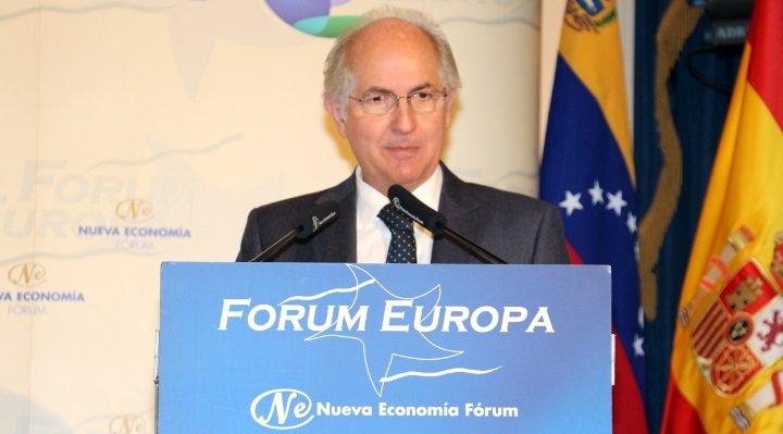 Las tres peticiones que Antonio Ledezma hace al socialista Pedro Sánchez