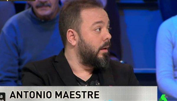 El 'pijo-obrero' Antonio Maestre se retuerce por el discurso de Felipe VI en Cuba
