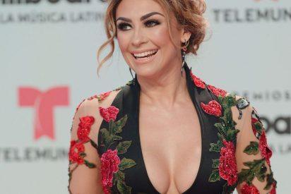 """Aracely Arámbula hace el """"10 Years Challenge"""" en bikini y sus seguidores aplauden... ¿a los cirujanos?"""