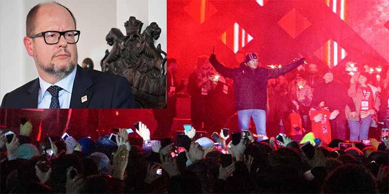 Matan de una puñalada en el corazón el alcalde de Gdansk en un concierto ante cientos de personas