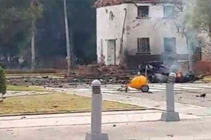 El crudo vídeo que muestra los restos de las víctimas del atentado con coche bomba en Colombia